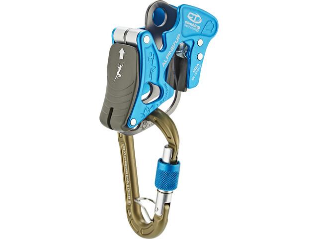 Climbing Technology Alpine-Up Kit per assicurazione arrampicata, blu/grigio